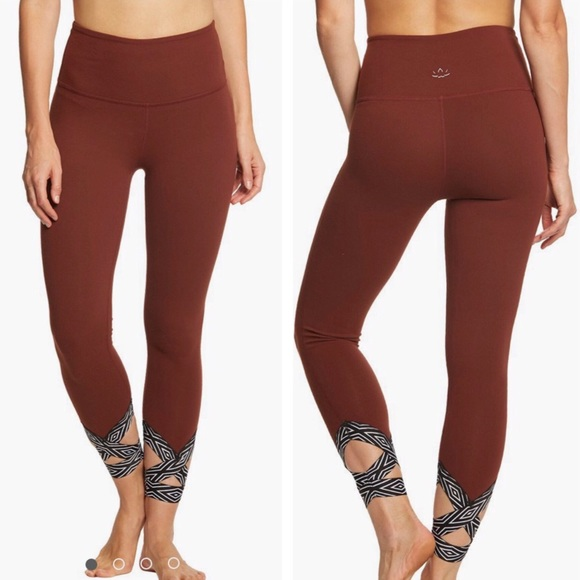 Beyond Yoga Pants - Beyond Yoga Badlands High Waist Strappy Leggings